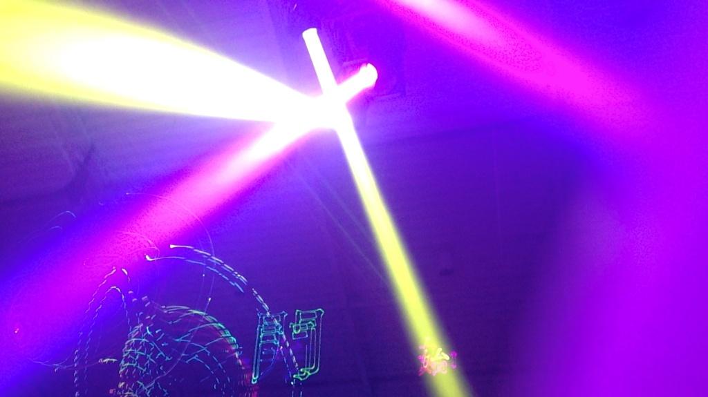 madeau fashion week alexander wang party laser IMG_9941 -