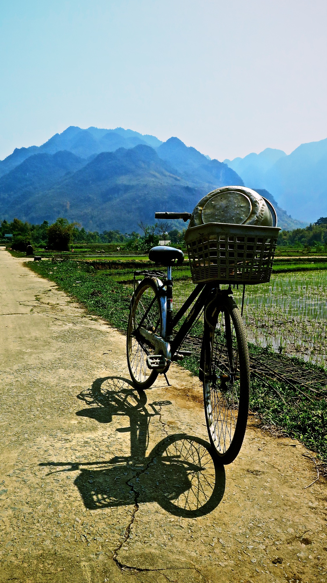 me and my bicycle… in mai chau