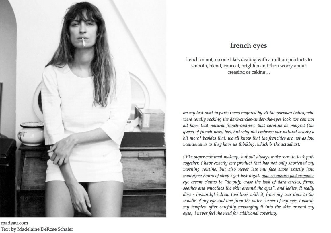 portfolio all french eyes