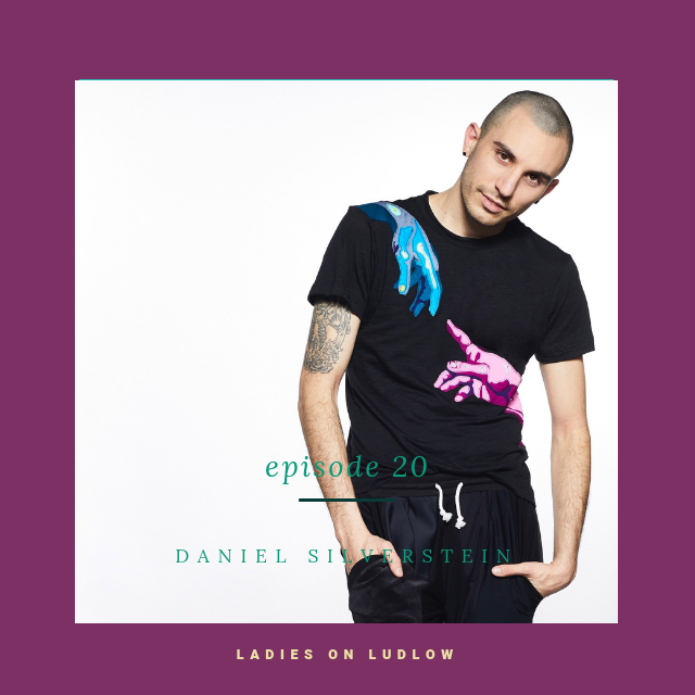 Daniel… bringing zero-waste and comedy to the fashion industry